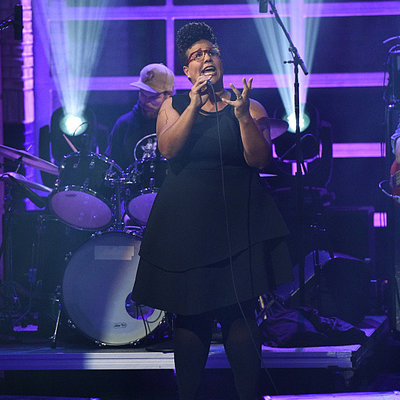 Alabama Shakes performs on The Late Show with Stephen Colbert, Wednesday Oct. 28, 2015 on the CBS Television Network. Photo: Jeffrey R. Staab/CBS ©2015 CBS Broadcasting Inc. All Rights Reserved