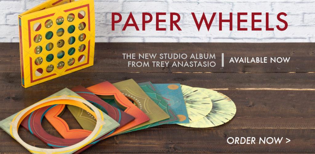 trey anastasio paper wheels deluxe vinyl